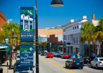 Downtown Beaufort, South Carolina