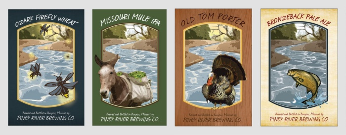 Piney River Brewing Ales