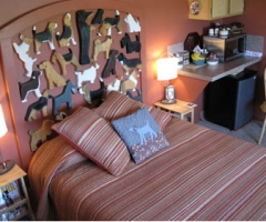Dog Park Inn Bedroom