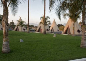 Wigwam Motel on Route 66 in California