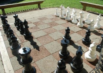 Ravenwood Castle Chess Board