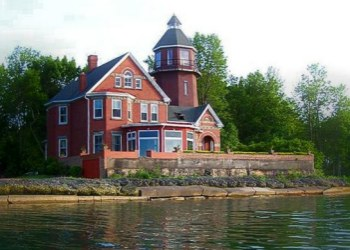 Braddock Point Lighthouse in Upper State New York