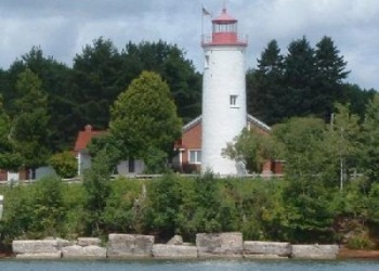 Jacobsville Lighthouse in Michigan