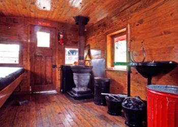 Caboose Inn at Cass Scenic Railroad State
