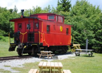 Cabooses at Cass Scenic Railroad State