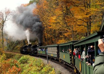 Cass Scenic Railroad State in West Virginia
