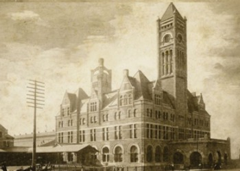 Old Photo of  Nashville's Union Station