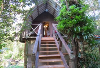 Bali Hut Treehouse in Pahoa, Hawaii