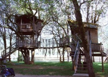 Treesort Treehouse in Oregon