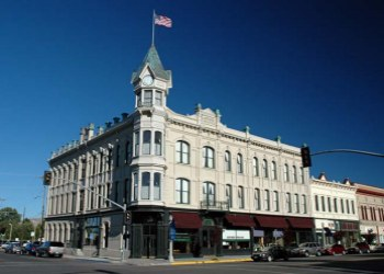 The Geiser Grand Hotel is a historic hotel in Baker City, Oregon