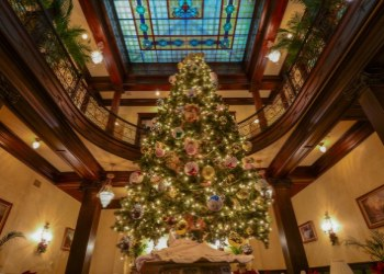 Christmas at the The Geiser Grand Hotel  in Baker City, Oregon