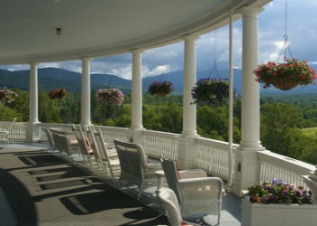 Mount Washington Hotel in the Spring