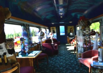 Aurora Express Dining Car