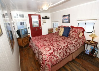 Red Caboose Bedroom