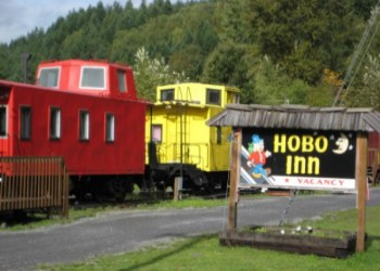 The Hobo Inn in Elbe, Washington