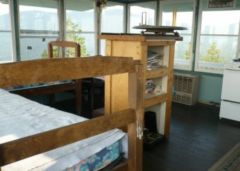 Calpine Fire Lookout  Interior