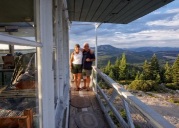 Calpine Fire Lookout View