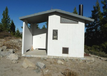 Calpine Fire Lookout Outhouse