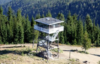 Montana Fire Lookout Tower Rentals -- Odd Inns & Uncommodations