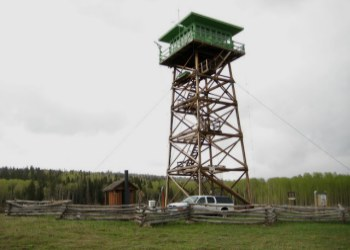 Jersey Jim Fire Lookout Tower in the