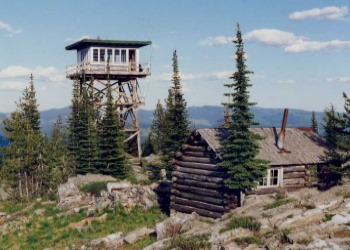 Garver Mountain Lookout Rental near Troy, Montana