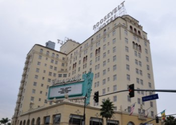 The haunted roosevelt hotel in hollywood california for Haunted hotels in los angeles ca