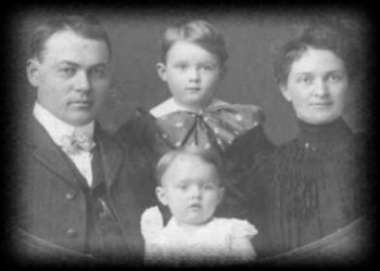 J.B. Moore and his family