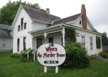 The Haunted Villisca Axe Murder House in Villisca, Iowa