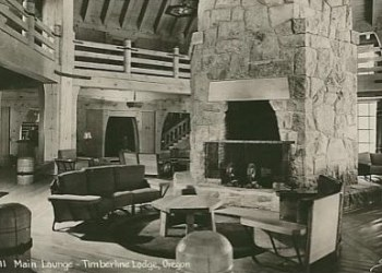 1930's Timberline Lodge in Mount Hood National Forrest