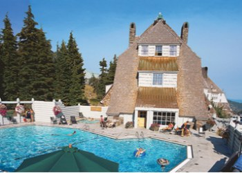Timberline Lodge Pool in the Summer