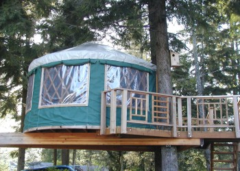 Skyriverhaven Treehouse on the Skykomish in Gold Bar, Washington