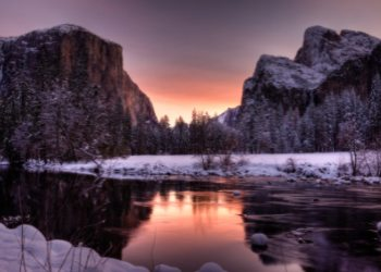 Sunrise at Yosemite National Park