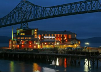 Cannery Pier Hotel in Astoria, Oregon