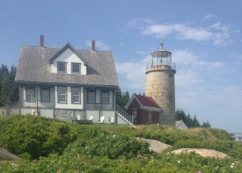 Whitehead Light Station located in Rockland, Maine