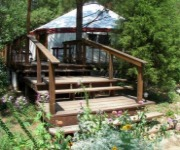 The Yurt Garden - Alabama