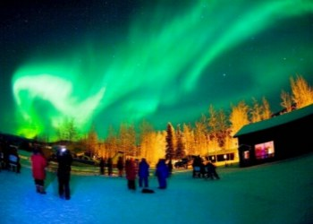 Chena Hot Springs Northern Lights