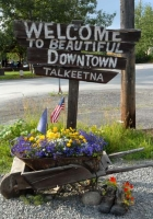 Downtown Talkeetna Alaska