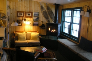 Interior of the Talkeetna Roadhouse