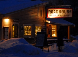 Talkeetna Roadhouse in the Wineter