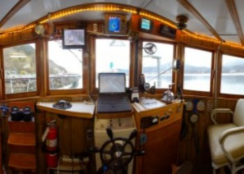 Alaska Pirates Pride Tugboat Captains Room