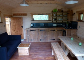 Into the Woods Treehouse Kitchen