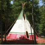 North Georgia Canopy Tours Teepee Camping