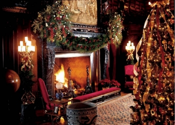 Christmas at Biltmore - Cozy Fire