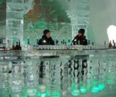 Ice Hotel Quebec Bar