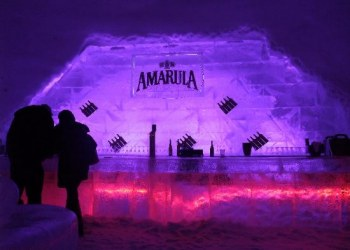 Snow Village Bar in Monteal Canada