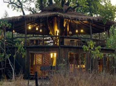 Tree House Hideaway in Bandhavgarh National Park, India