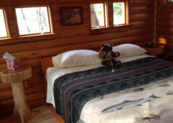 Moose Meadow Treehouse Bedroom