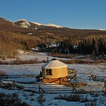 Colorado Yurt Rental
