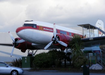 1943 DC3 Airplane McDonalds