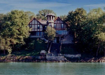 The Historic Spicer Castle in Minnesota